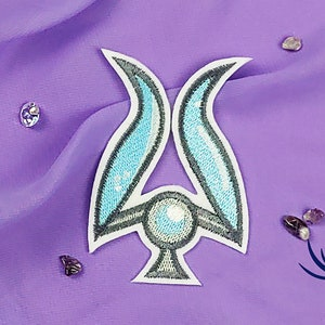 fanart Dark Crystal Collection . SPRITON CLAN embroidered iron on patch