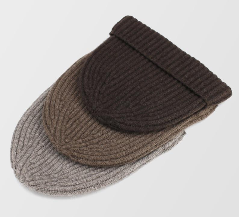 264a74fc4f5 Pure Natural Yak Hat Mongolian 100% Yak Wool Beanie Unisex