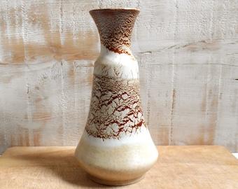 vintage 1960's stoneware vase