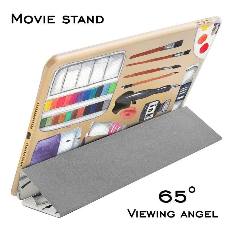 Paint iPad case 2019 iPad pro case gift for artist iPad 2018 9.7 case mini iPad 5 case iPad case 12.9 2020 iPad 10.5 inch case iPad 2 air 4
