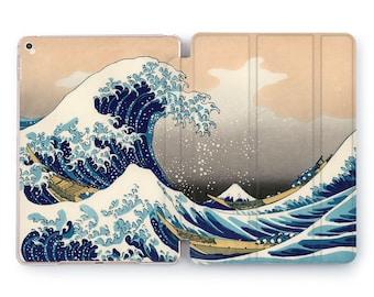 Wave off Kanagawa iPad 5 mini cover japanese art 6th gen iPad 12.9 iPad pro 11 case iPad 10.5 pro inch 2020 iPad 9.7 case iPad 5th gen 4 3 2