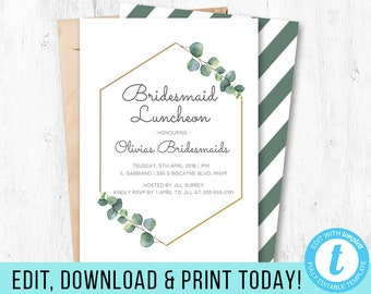 bridesmaids luncheon etsy