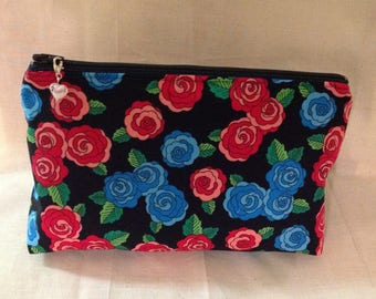 Cosmetic bag, Zipper pouch, zipper bag