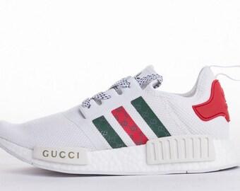 purchase cheap 4f6d5 faf87 Custom Gucci x Adidas NMD