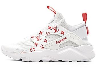 165fd674f5b2 Custom LV x Supreme x Nike Huaraches