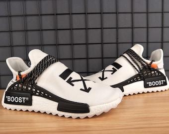 huge inventory 12826 cc221 Custom Off-White x Adidas Human Race