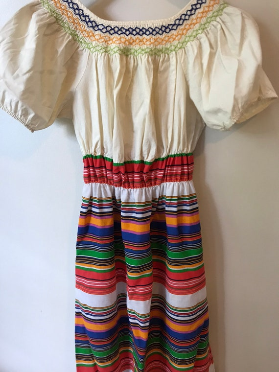 Perfect Floor-length Off-the-Shoulder Peasant Dres