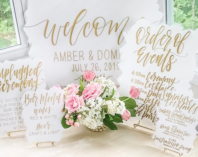 Featured listing image: Full Wedding Package [2-6 Sign Bundle]