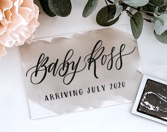Pregnancy Announcement Sign