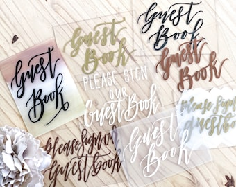 Please Sign Our Guestbook Clearance Signs