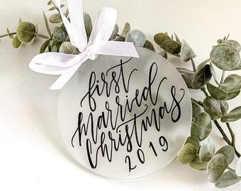 """Customized 3"""" Acrylic Christmas Ornament"""