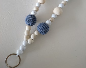 Keychain Crochet Beads