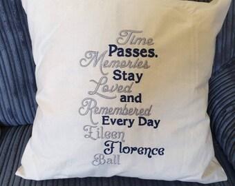 Sympathy pillow | Etsy