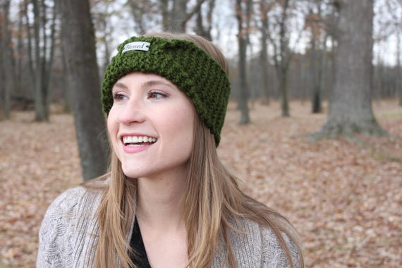 Knitting Pattern For Birmingham Blessed Headband Chunky Knit Etsy