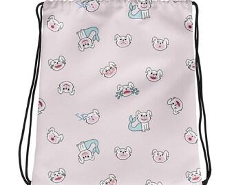 Emo Drawstring Bag