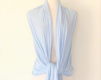 2b2f846610 EXLarge Cotton Wrap in Powder Blue