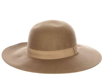 28.00 Taupe Wool Felt Boho Floppy Hat 84f8915e366c