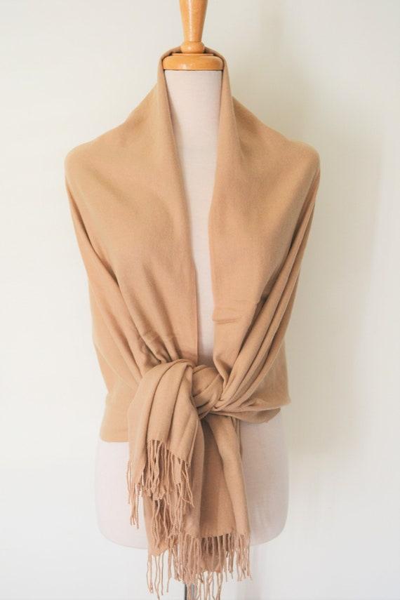 Baby Soft Cashmere /& Cotton Blend Star Blanket Wrap Ladies Warm Winter Scarf UK