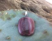 Fused opaque glass pendant recycled stain glass lamp glass variegated browns like sandstone natural colors made in Ajo, AZ