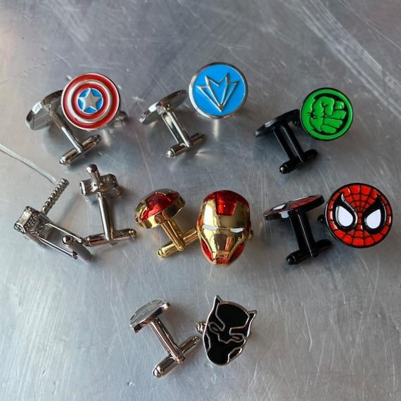 Marvel Inspired Incredible Hulk Character Metal Enamel Stud Earrings with Gift Box