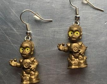Star Wars C-3PO Earrings