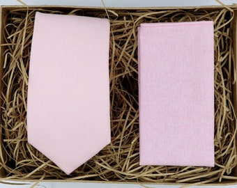 Groomsmen Gift Wedding Gifts Mens Gifts for Men Blush Pink Tie Knitted Tie Knit Tie Pocket Square Mens Tie Pink Knitted Tie BILL /& BELLA