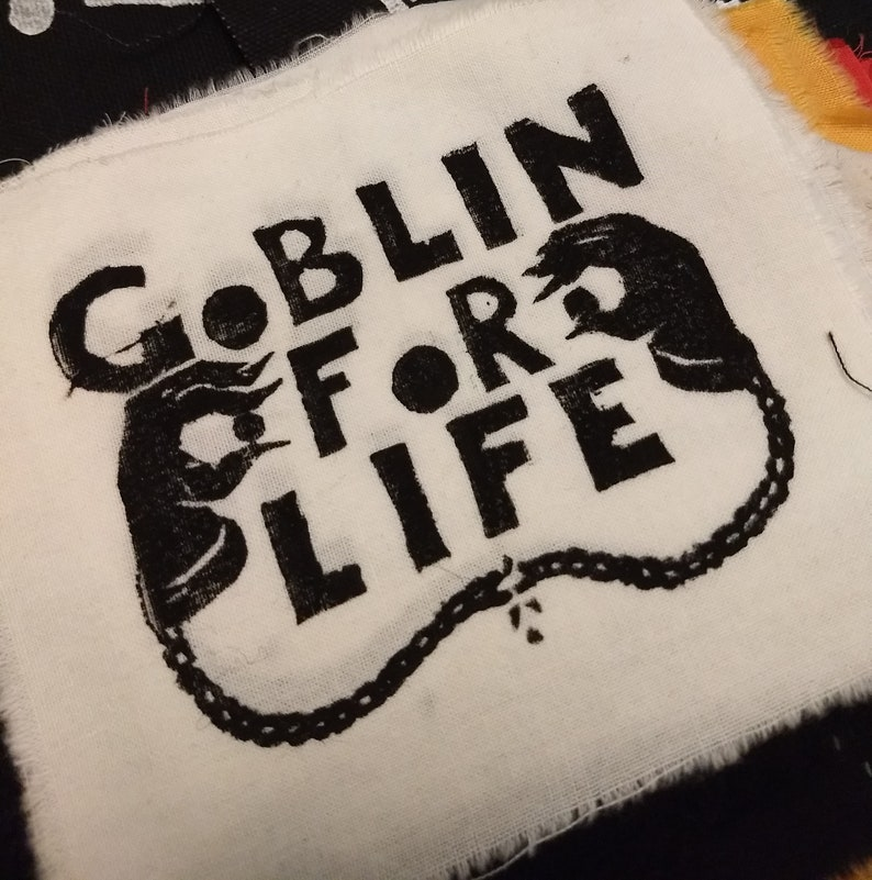 Goblin For Life Patch