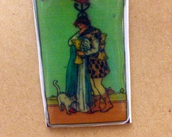 Tarot card button gift badge gift symbolism playing cards divination simple tarot trimmed deck oracle cards magic cards