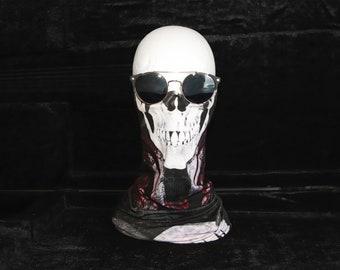 Skull scarf, biker face mask