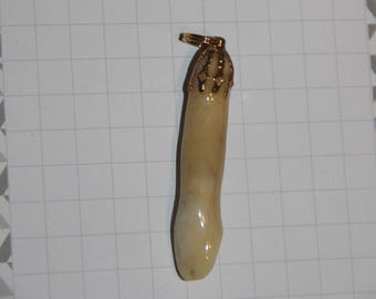MOOSE TOOTH Pendant Necklace Natural Arts