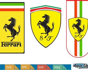 Ferrari Logo Etsy