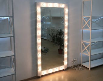 Inspirational Stand Up Mirror With Lights Decor Amp Design