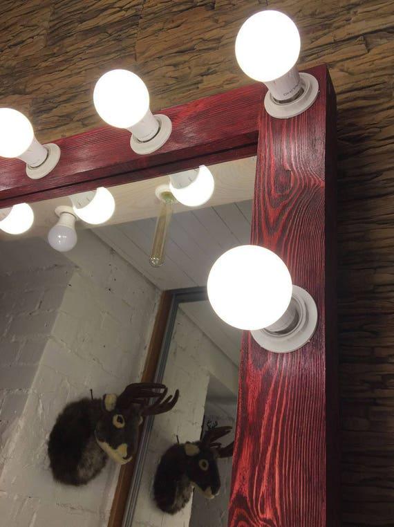 ordinary Etsy Vanity Mirror Part - 19: Vanity mirror with lights Hollywood vanity mirror Makeup | Etsy