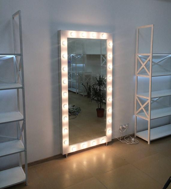 incredible Etsy Vanity Mirror Part - 11: Showroom mirrorvanity mirror with lightsMakeup | Etsy