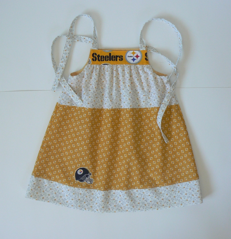 best loved 9d817 a064e Pittsburgh Steelers Dress, NFL Baby Clothes, Steelers Baby Dress, 2T  Steelers Dress