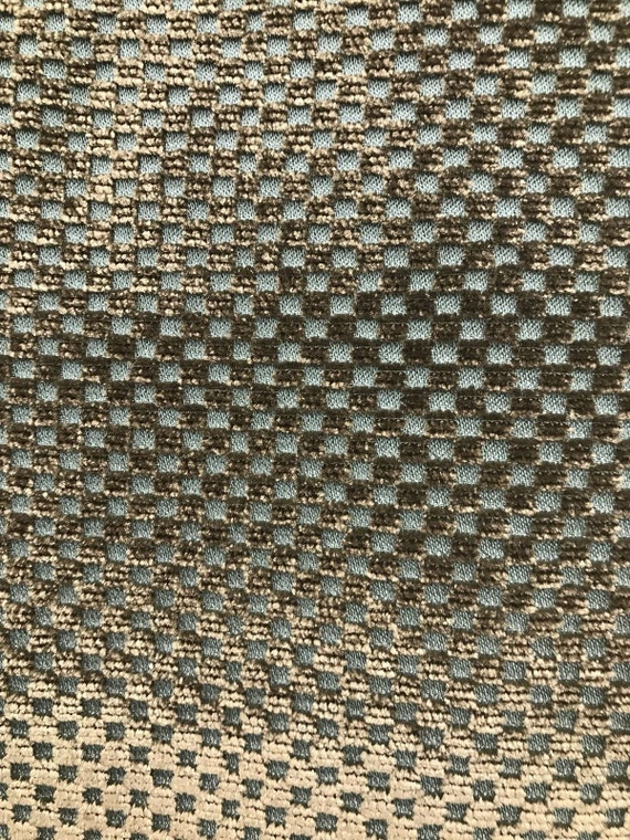 SWATCH Novelty Made In Italy Brocade Velvet Fabric Antique Taupe Gray Venetian