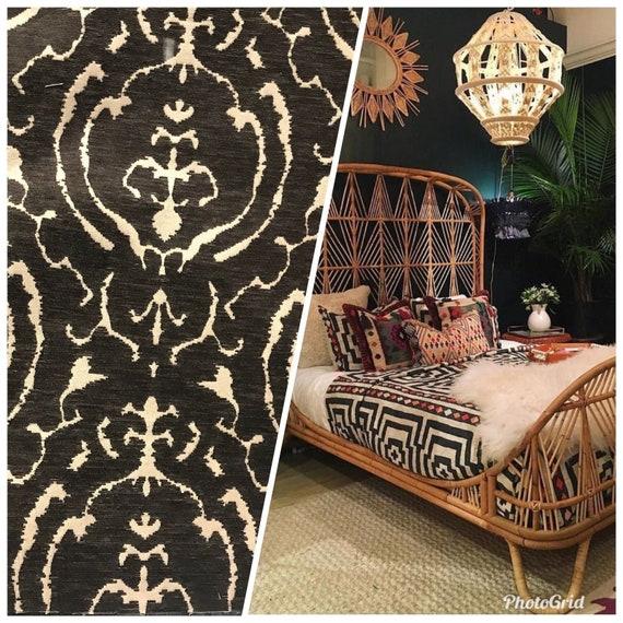 New Mud Cloth Inspired Chenille Velvet Upholstery Fabric Etsy