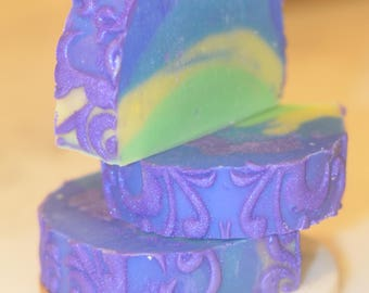 Lavender Rainbow soap