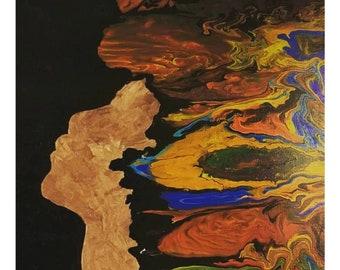 Black Art Paintings Images