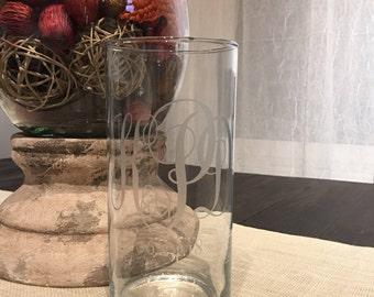 Engraved Unity Candle, Unity Candle, Personalized Unity Candle, Unity Vase, Unity Ceremony, Bridal Shower, Unity Candle Vase, Bridal Gift