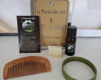 Travel kit Le Barbu des bois