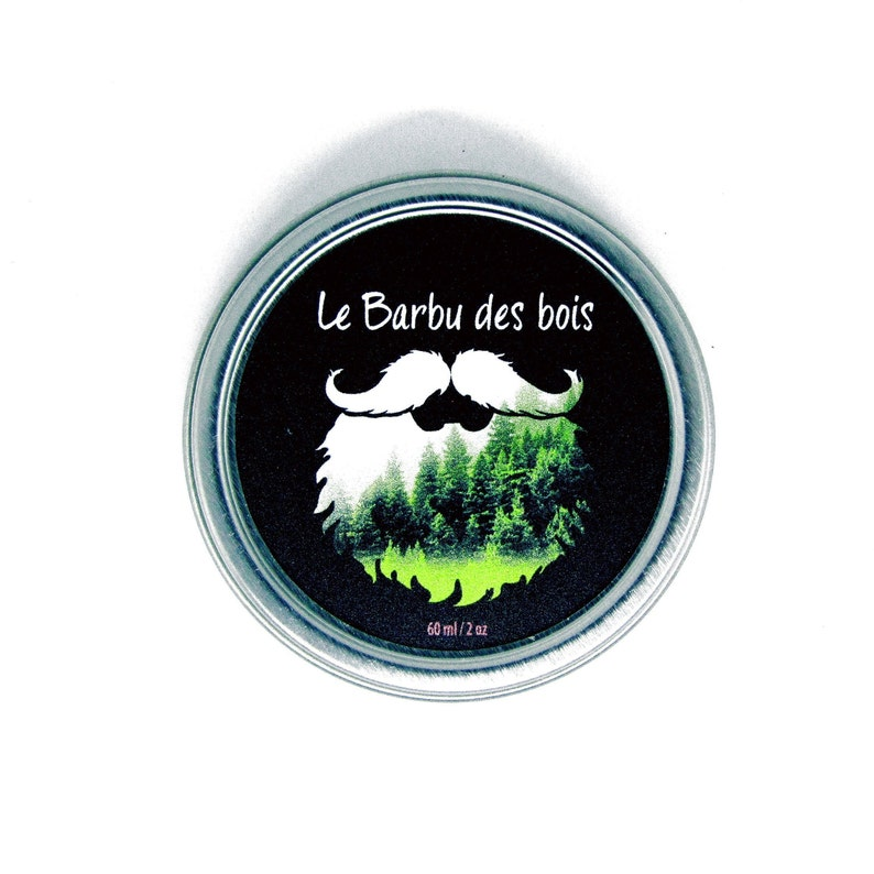 Beard balm 60ml Bourbon  bacon image 0