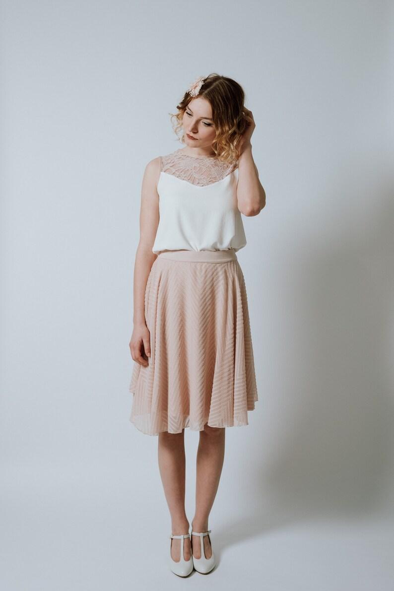 Chiffon Dress Mandarine  image 0