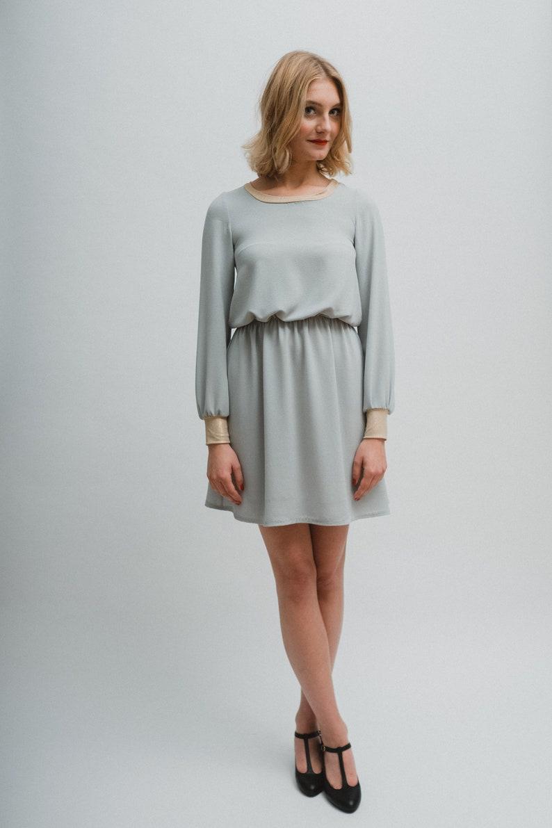 Crèpe Dress  Kolibri Mint  image 0