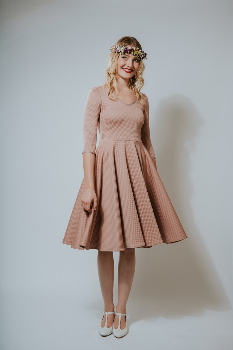 50s Dress Autumn Rose  image 0