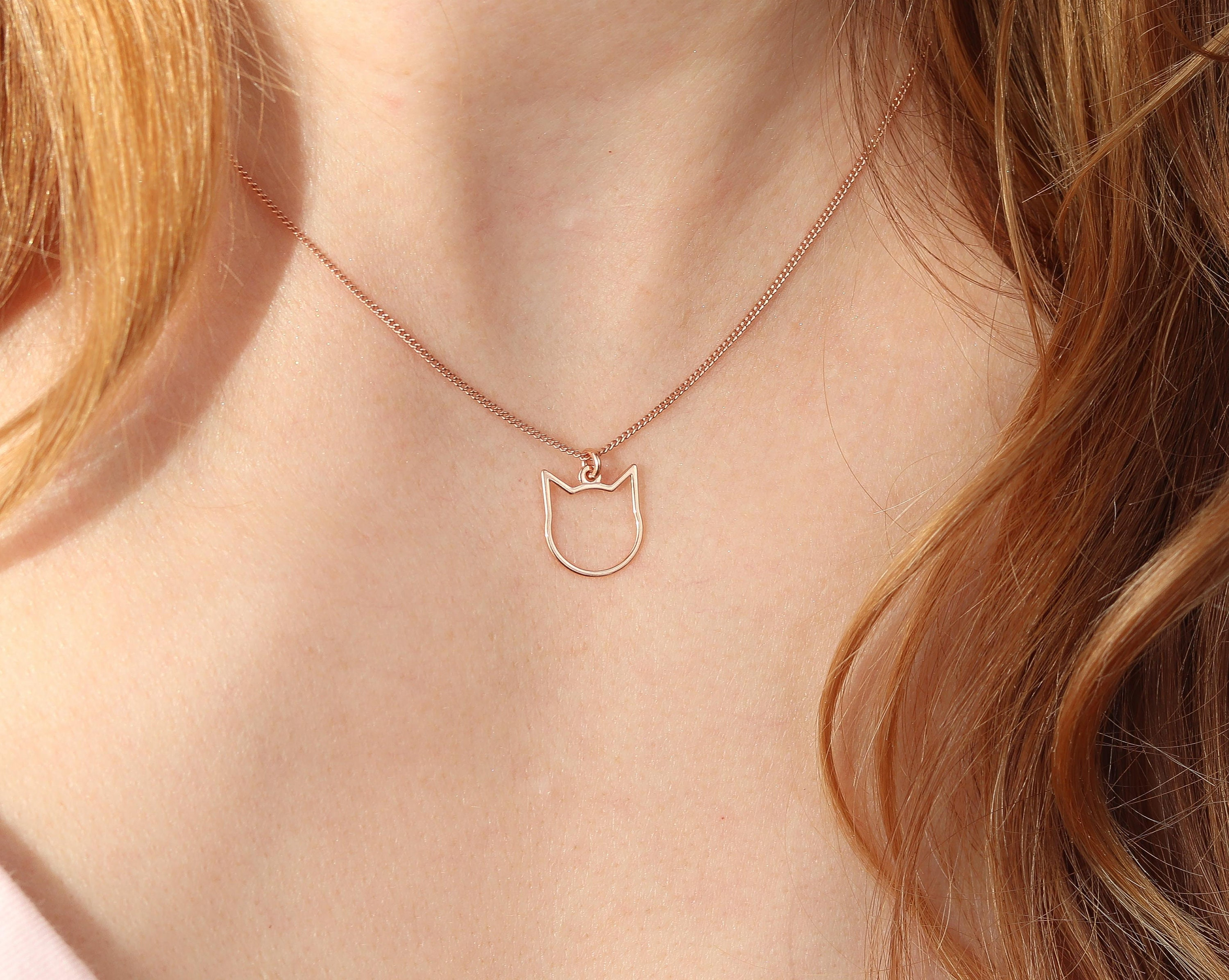 14K Rose Gold-plated 925 Silver Lil Sis Pendant with 16 Necklace Jewels Obsession Lil Sis Necklace