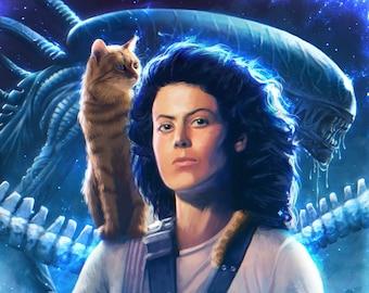 Ripley and Jonesy