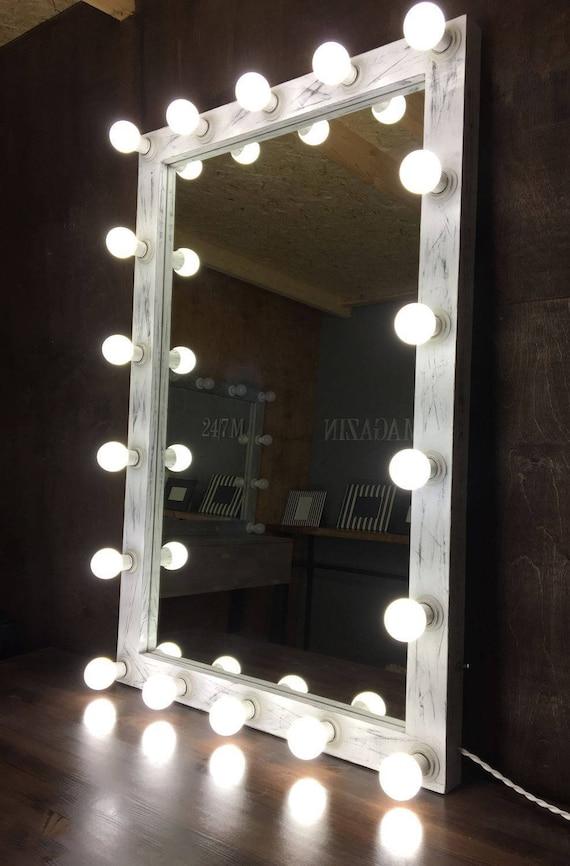 Verwonderend Showroom Hollywood Spiegel mit Beleuchtung Hollywood Spiegel   Etsy TH-59