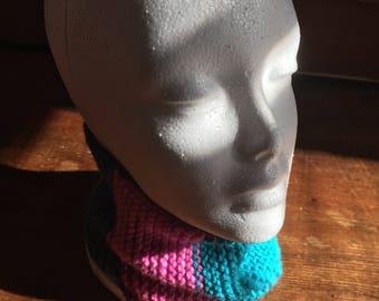 multicolor neckwarmer