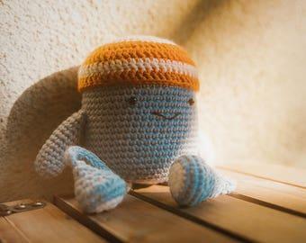 "Mr. Beanie - ""Sunny Afternoon"" Print"